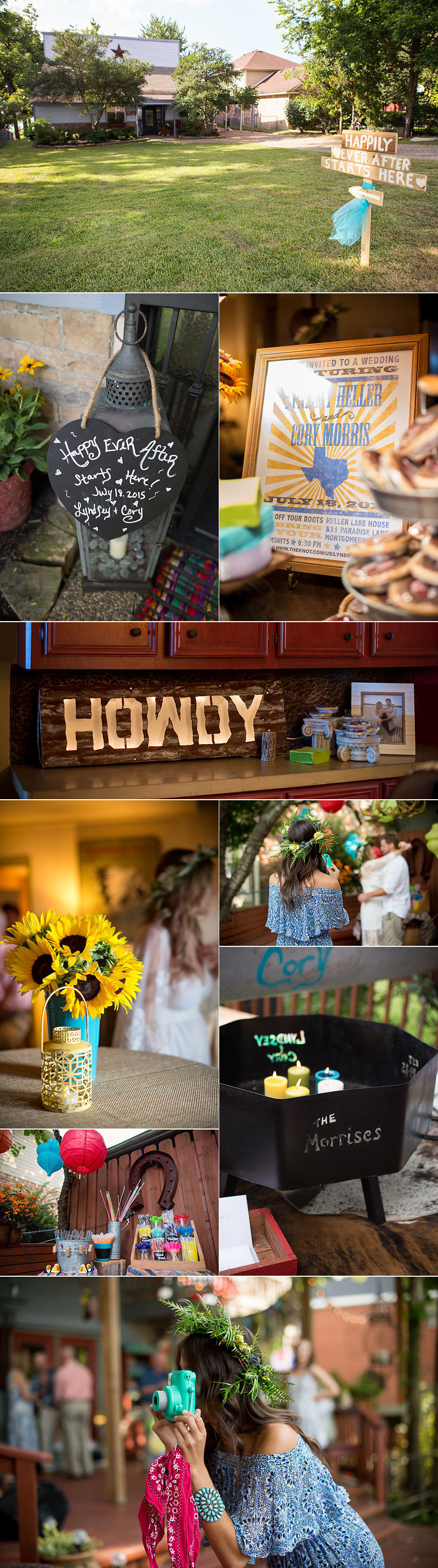 wedding photographer lake conroe